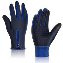 Nurbijar Winter Gloves Waterproof Cycling Gloves for Man and Woman