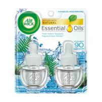 Air Wick, Plug in Scented Oil 2 Refills, Fresh Waters, 1.34oz
