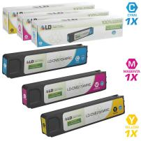LD Remanufactured Ink Cartridge Replacement for HP 971XL High Yield (Cyan, Magenta, Yellow, 3-Pack)