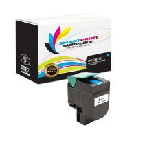 Smart Print Supplies Compatible CX310 80C1SC0 Cyan Toner Cartridge Replacement for Lexmark CX310 410 510 Printers (2,000 Pages)