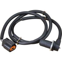 AIP Electronics ABS Anti-Lock Brake Wheel Speed Sensor Compatible Replacement For 2001-2006 Mitsubishi Montero Front Right Passenger Oem Fit ABS246