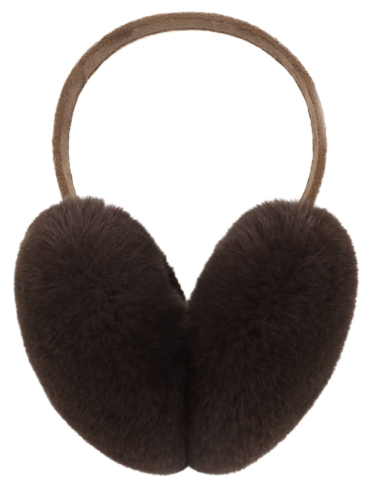 Lullaby Unisex Womens Mens Winter Warm Ear Muffs Faux Fur Ear Warmers