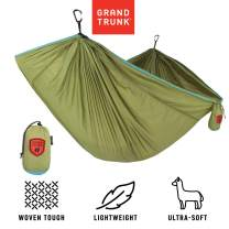 Grand Trunk Trunk Tech Single Hammock: Strong, Light, and Portable - Perfect for Outdoor Adventures, Backpacking, and Festivals
