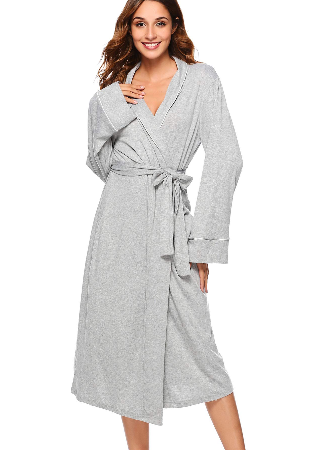 ETOSELL Women's Nightgowns Long Sleeves Nightshirt Soft Sleepwear