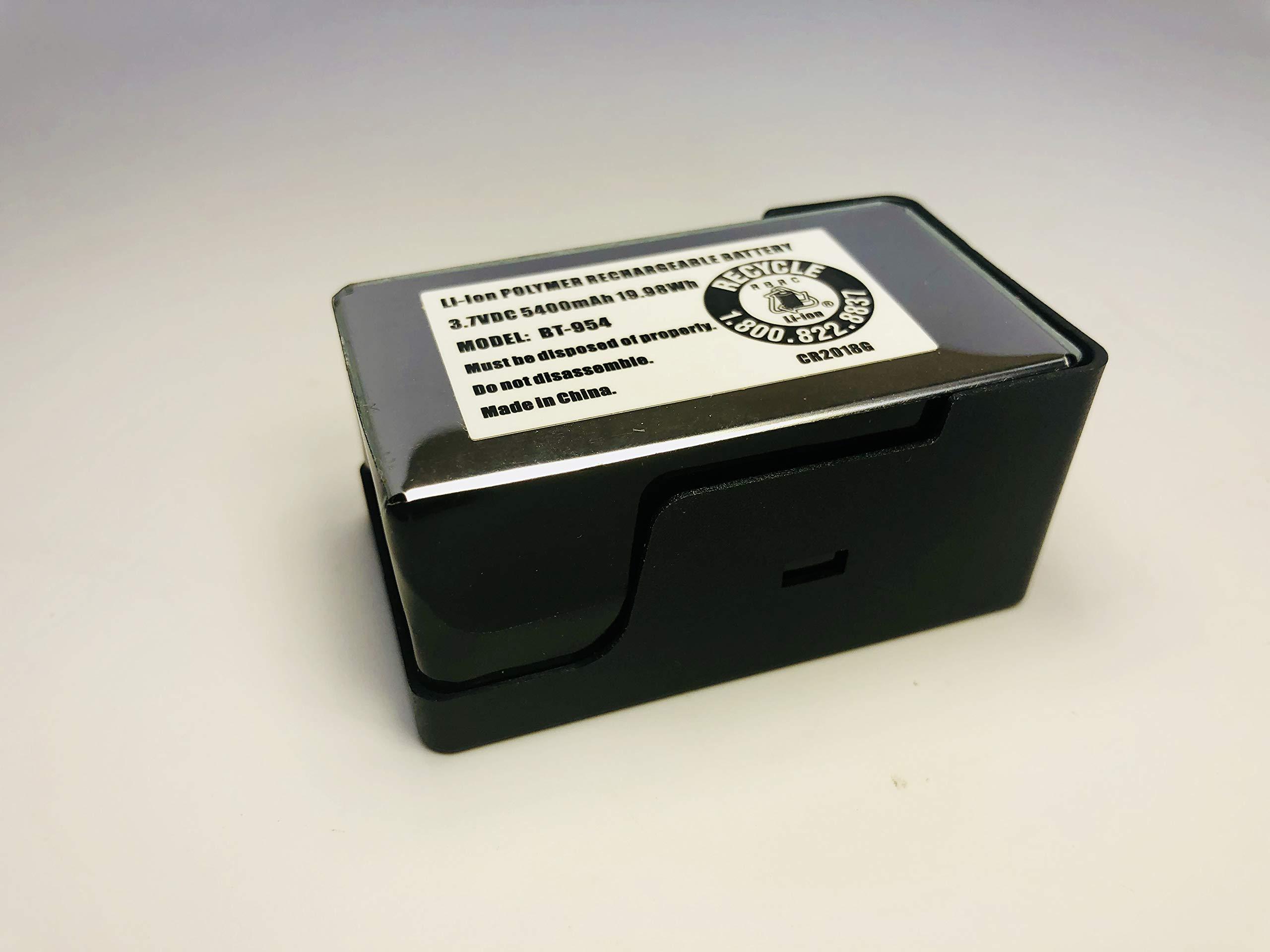 Uniden (EBC100) Accessory External Battery Charger kit for SDS100 Digital Handheld Scanner, Kit Includes one Extended Battery Pack,Black