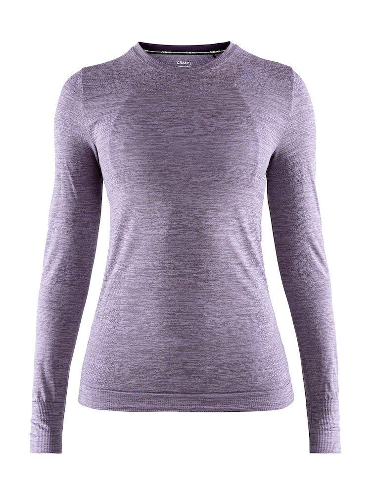 Craft Sportswear Women's Fuseknit Comfort Roundneck Long Sleeve Base Layer Wicking Shirt