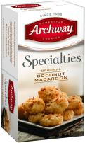 Archway Cookies, Original Coconut Macaroons, 6 Ounce (Pack of 9)