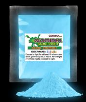 1 oz Glow in The Dark Pigment Powder Paint for Parties, Paintings and Events - Blue