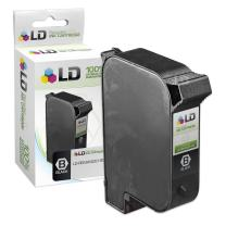 LD Remanufactured Ink Cartridge Replacement for HP C6195A (Fast-Dry Black)