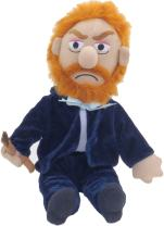 """The Unemployed Philosophers Guild Vincent Van Gogh Little Thinker - 11"""" Plush Doll for Kids and Adults"""