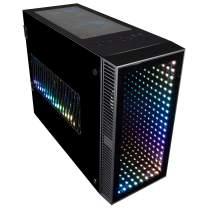 CUK Continuum Mini Gaming PC (Liquid Cooled Intel Core i9 K-Series, 32GB RAM, 512GB NVMe + 1TB HDD, NVIDIA GeForce RTX 2080 Ti 11GB, 650W PSU, AC Wifi, Windows 10 Home) Tiny RGB Desktop Gamer Computer