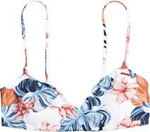 Roxy Women's Printed Beach Classics Athletic Bikini Top