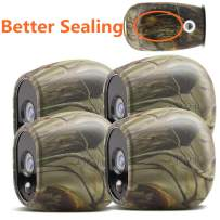 Taken Silicone Skins Compatible with Arlo Smart Security Home Camera, Silicone Skins Case Cover for Arlo Smart Security Wire-Free Cameras, 4 Pack, Camouflage