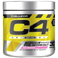 C4 Original Pre Workout Powder Pink Lemonade | Vitamin C for Immune Support | Sugar Free Preworkout Energy for Men & Women | 150mg Caffeine + Beta Alanine + Creatine | 30 Servings