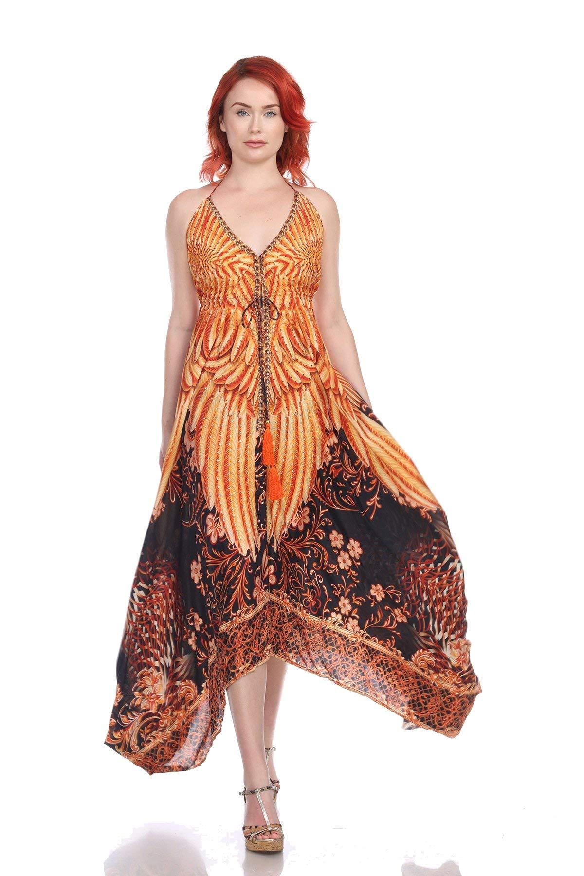 LA MODA CLOTHING Summer Beach Resort Party Cover Up Kaftan Dresses and Women's Dresses Shop Luxury Dresses