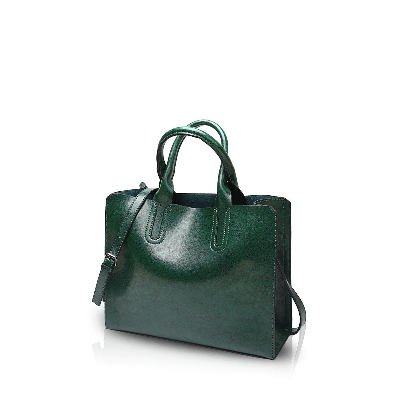 NICOLE&DORIS Tote Handbag Crossbody Bag Shoulder Bag Ladies Messenger Bag Purse PU Leather