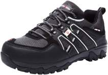 LARNMERN Steel Toe Shoes for Men, Safety Shoes Breathable Comfortable Footwear Industrial and Construction Boots