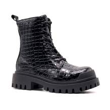 MOMOKA Women's Ankle Boots Slip On Platform Boots
