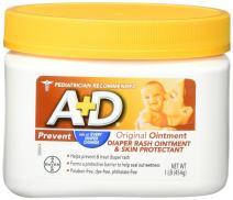 A&D Original Diaper Ointment Jar, (3 Pounds)