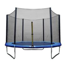 ULTRAPOWER SPORTS Trampoline 10/12 / 13 / 14Ft Replacement Safety Enclousure Net for 6/8 Straight Poles Round Frame Trampolines (Net Only)