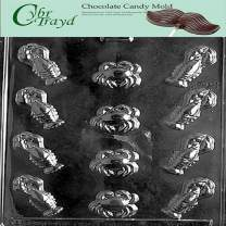 Cybrtrayd N004 Lobster Assortment Candy Mold Chocolate, Lobster Assortment with Exclusive Cybrtrayd Copyrighted Chocolate Molding Instructions