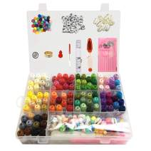 Embroidery Floss Kit Upgrades 229PCS with Storage Box for Friendship Bracelet,100 Skeins Unique Rainbow Colors Cross Stitch Threads