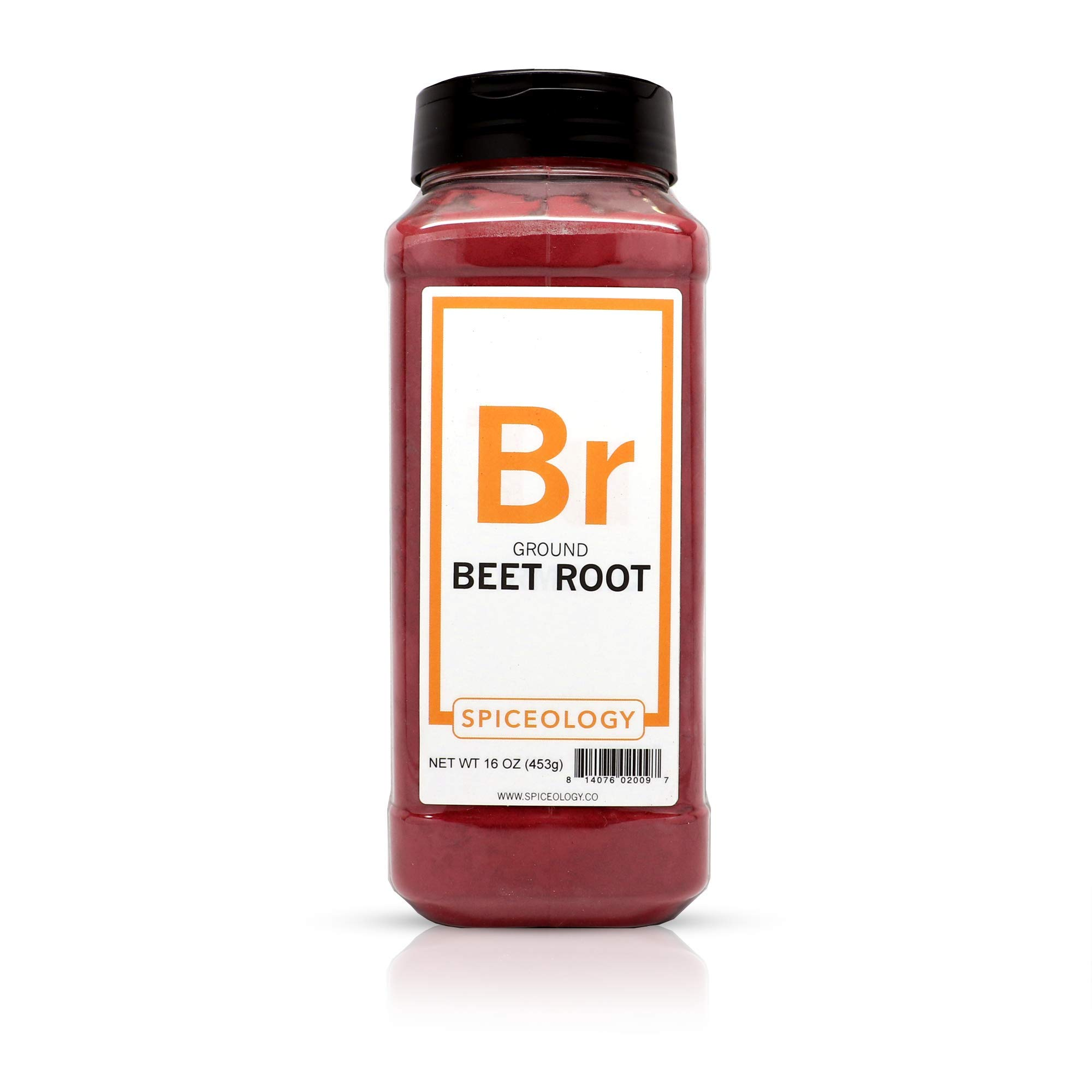 Beet Root Powder - Spiceology Ground Beetroot - 16 ounces
