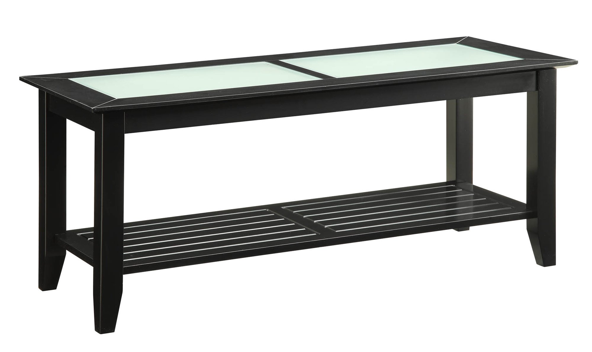 Convenience Concepts Carmel Coffee Table, Black