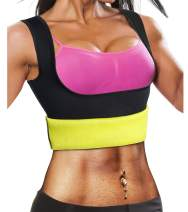 Ursexyly Waist Trainer Fat Burn Sweating Vest for Women Tummy Control Sauna Sweat Vest Hot Tank Top