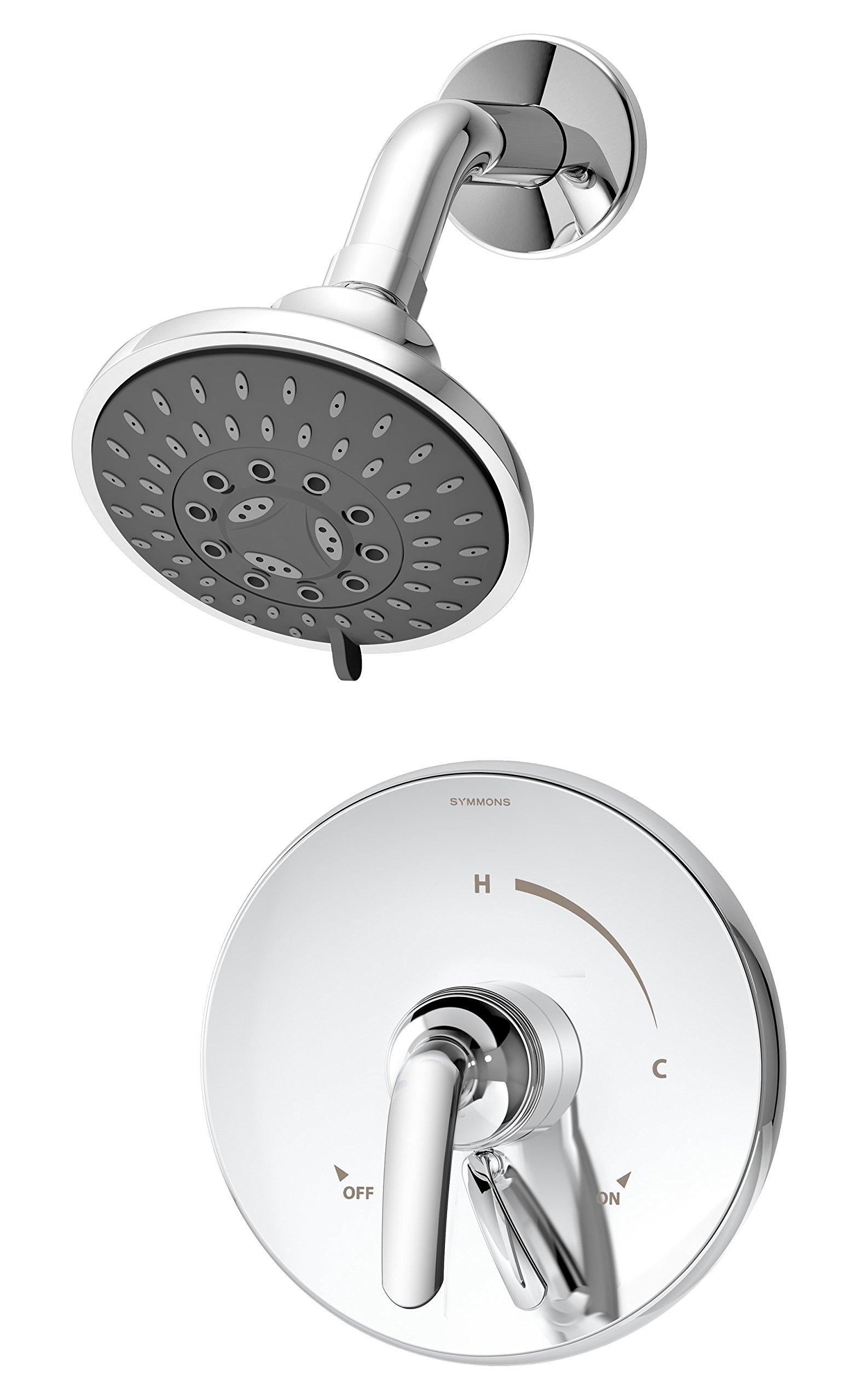Symmons S-5501 Elm 1- Handle Shower Faucet System, Chrome