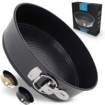 Zulay Premium 7 Inch Cheesecake Pan (Black)