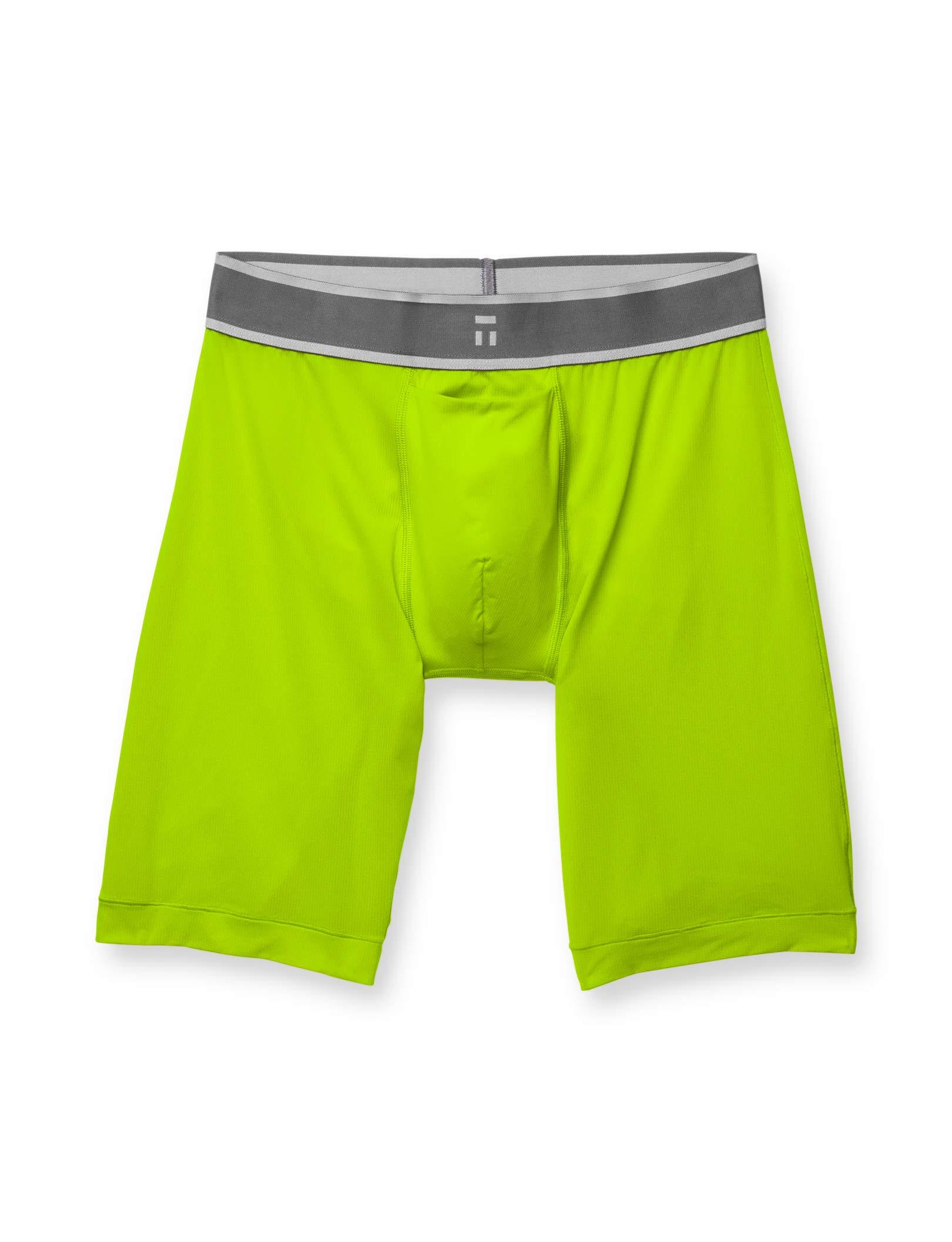 Tommy John Men's Air Boxer Briefs - No Ride-Up Comfortable Breathable Underwear for Men