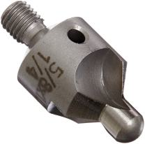 "Drill America TSC Series High-Speed Steel Countersink, 1/2"" Body Diameter, 100 Degrees Angle, 7/32"" Pilot (Pack of 10)"