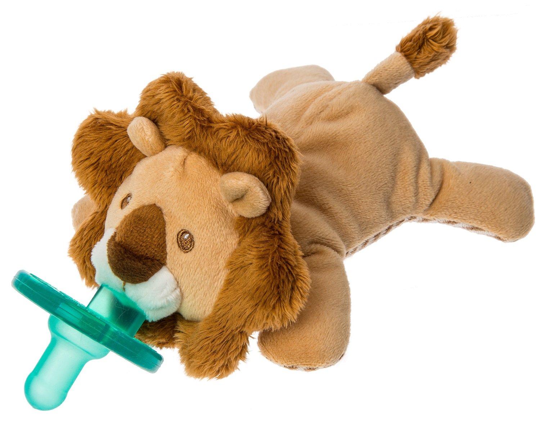 Wubbanub Afrique Lion Soft Toy and Infant Pacifier