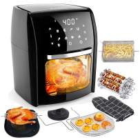 Audew Air Fryer Oven with 12.7Qt Large Capacity, 7-in-1 Multi-Use Digital Air Fryer, 1700W /110V Electric Hot Deep Fryer, Oilless Air Fryer Cooker with Recipe Book - Perfect Gift Idea