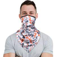 YOSUNPING Paisley Pattern Face Mask Bandanas Head Wraps for Hiking Cycling Motorcycle Ski