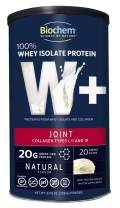 Biochem 100% Whey Isolate Protein - Joint - 8.05 Ounce - Natural Flavor - 20g Protein - Amino Acids - Collagen Types I, II & III - Easily Digestible - No Added Taste - Magnesium