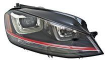 HELLA 011956281 Bi-Xenon Headlight Assembly, VW Golf VII (5G1, BE1, BA5), Passenger Side