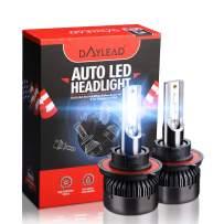 H13 LED Headlight BulbsH13 LED Headlight Bulbs Conversion Kit LED Light Bulb with Cooling Fan,12000LM 6500K Xenon White, Low Beam/Fog Light Bulb,Pack of 2