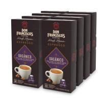 Don Francisco's Espresso Capsules, Organico, Intensity 7 - Recyclable Coffee Pods (80 Count), Compatible with Nespresso OriginalLine Machines