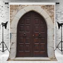 Kate 8x8ft Church Door Photography Backdrop Stone Wall Background Arch Door Photo Background