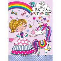 Jewelkeeper Rachel Ellen Designs Little Princess Unicorn Writing Kit, Girls Stationery Paper Letter Set, Stickers, Envelope Seals