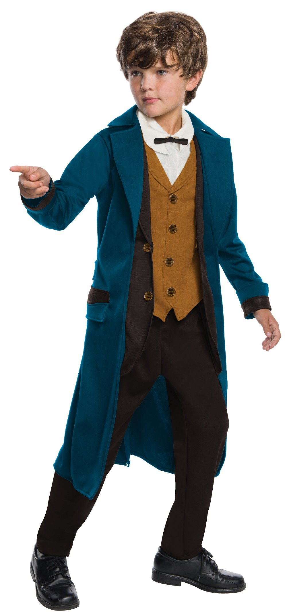 Rubie's Costume Boys Fantastic Beasts & Where to Find Them Deluxe Newt Scamander Costume, Small, Multicolor