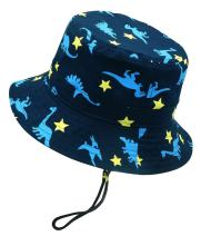 Kids Boys Sun Protection Bucket Hat for 6M-8T
