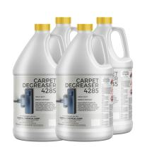 CarpetGeneral - Carpet Degreaser 4285 - Carpet Stain Remover, Pre-Conditioner, and Degreasing Cleaner- Use for Heavy-Duty Spot Cleaning - Professional Grade - Case of Four 1 Gallon Jugs