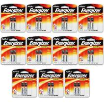 20 Count Energizer Max AAA Batteries - 10 Pack of 2 AAA2 Total of 20 Batteries, The Perfect Choice of Power for All AAA Battery Operated Devices