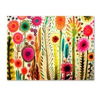 Printemps by Sylvie Demers, 35x47-Inch Canvas Wall Art