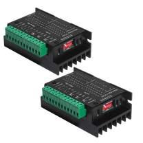 2PCS TB6600 4A 9-42V Stepper Motor Driver Controller tb6600 32 Segments 2/4 Phase Hybrid Stepper Motor Driver Board