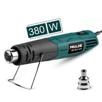 Heat Gun Dual Temp, PRULDE Mini Hot Air Gun 480ᵒF-850°F, Light Heat Guns for Crafts DIY, Epoxy Resin, Shrink Wrap, Electronics, Embossing - HG0060