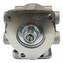 E-7 Pedal Foot Control Brake Valve for Heavy Duty Big Rigs - Dual Circuit